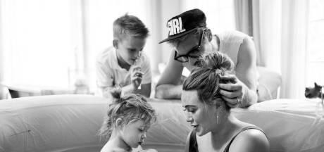 Hilary Duff publie d'incroyables photos de son accouchement à domicile