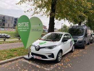 Elektrische deelwagens maken hun opwachting in Gent