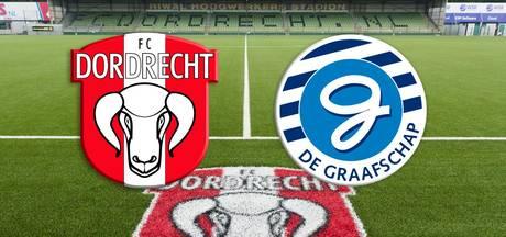 FC Dordrecht verliest thuis met 3-0 tegen De Graafschap