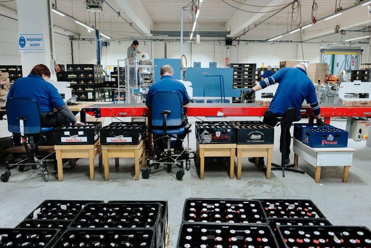 De werkvloer in Cuijk van Integrale Bedrijven Noordoost-Brabant. Beeld Merlin Daleman