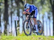 Evenepoel verstevigt leiding Ronde van België met zege in tijdrit