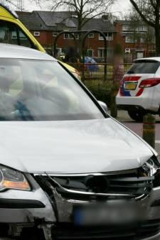 Veel schade bij botsing in Enschede
