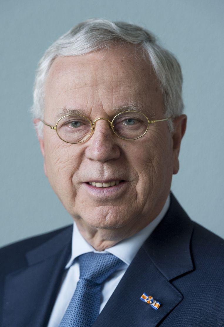 Jan Hommen, bestuursvoorzitter van accountants- en adviesorganisatie KPMG Nederland. Beeld null