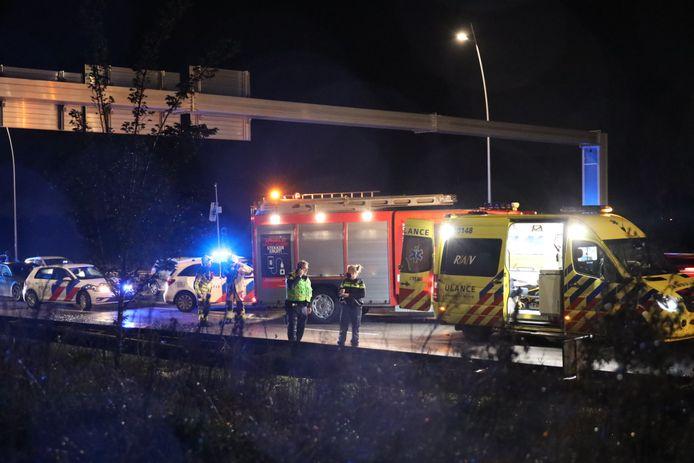 Ernstig ongeluk op Midden-Brabantweg bij Waalwijk