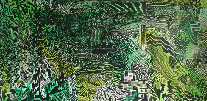 Dataflow van de Utrechtse kunstenaar Marisa Rappard, De Line Up, Centraal Museum