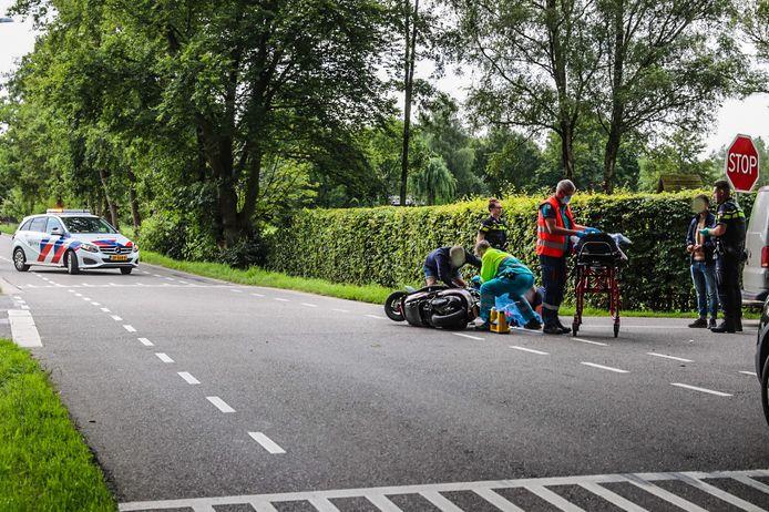 Op het kruispunt van de Garderbroekerweg met de Blotenkamperweg heeft dinsdagochtend een ongeval plaatsgevonden.