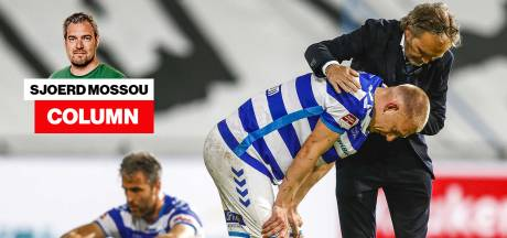 De strijd om promotie-degradatie is voetbal waarbij je wel kunt huilen van de spanning