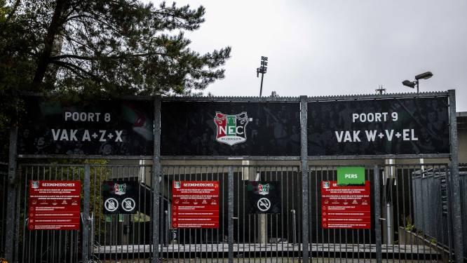 NEC wil thuiswedstrijden tóch in De Goffert spelen, zonder publiek