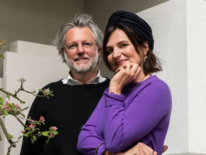 """Interieurontwerpster Marie Michielssen (55) en baas van 'Serax' Axel Van Den Bossche (60): """"Na vijfentwintig jaar voelt het tussen ons nog altijd heel verfrissend"""""""