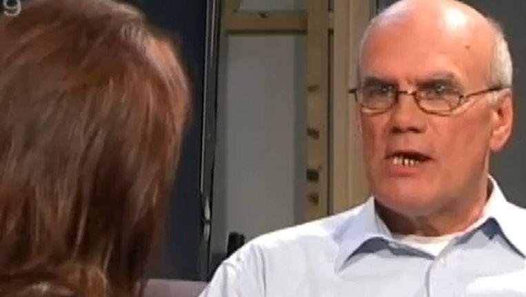 Goedele Liekens in het programma '1 op 1', toen ze een gesprek had met Ad van den Berg.