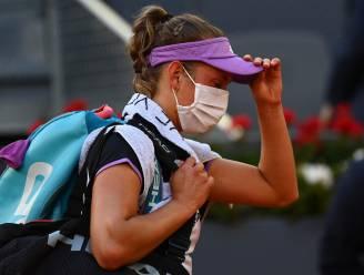 Elise Mertens geeft in Madrid geblesseerd op in kwartfinale