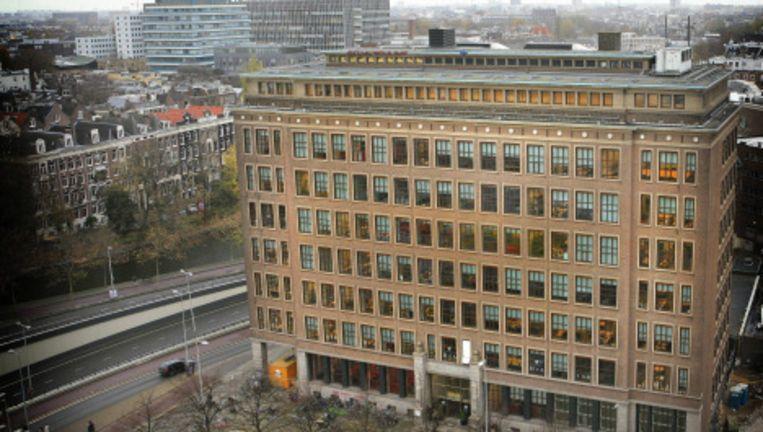 Hogeschool van Amsterdam aan de Wibautstraat. Archieffoto Floris Lok Beeld