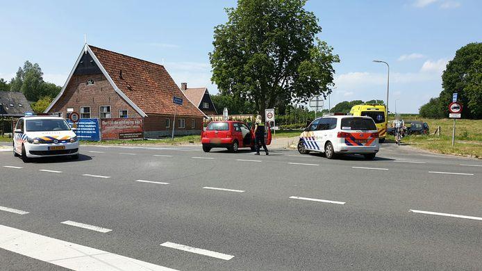 Op de Lossersestraat (N732) vond zondagmiddag een ernstig ongeval plaats.