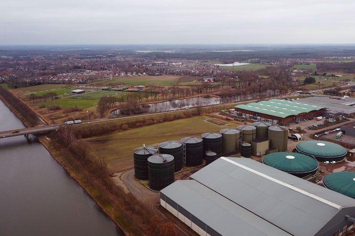 De Helmondse mestfabriek van Den Ouden.