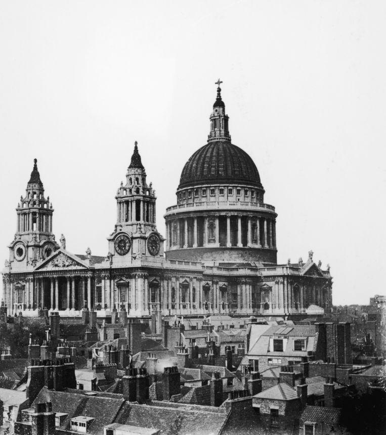 St. Paul's-kathedraal in 1870. Beeld Getty