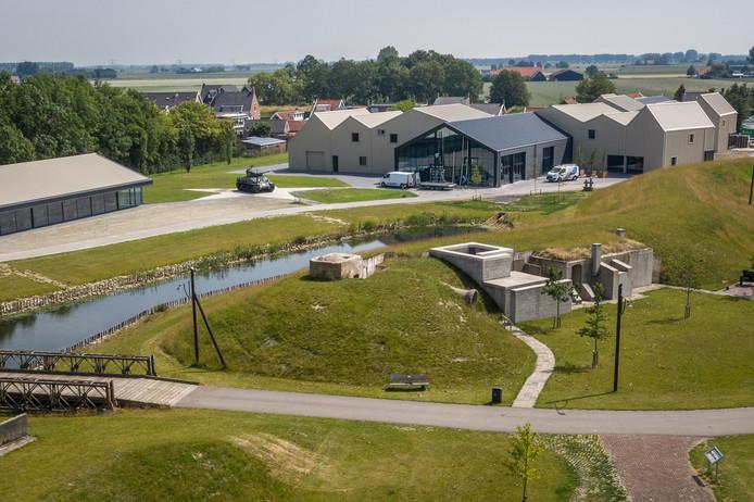 Het uitgebreide Bevrijdingsmuseum en -park in Nieuwdorp