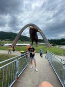 Mark van Agteren bezocht met krukken de Red Bull Ring in Oostenrijk, waar hij Max Verstappen zag winnen.