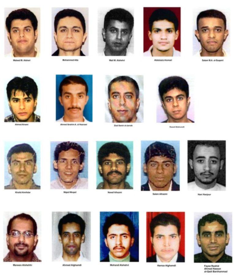 Vijftien van de negentien vliegtuigkapers hadden de Saudische nationaliteit. Beeld Getty Images
