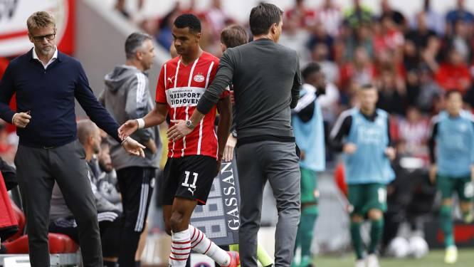 Gakpo toont begrip voor omstreden wissel tegen Feyenoord: 'Onze trainer denkt op deze manier'