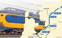 De Lelylijn gaat via Flevoland naar het noorden.