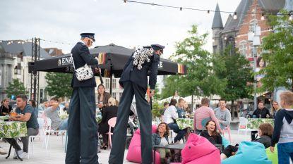 Oudenaarde zet zomer sfeervol in met Café Locale en straatanimatie op de Markt