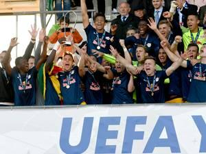 Salzburg verrast Europese top met zege in Youth League