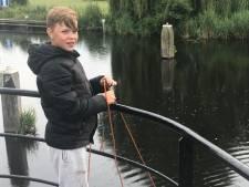 Jonge magneetvisser Ronan hengelt oorlogsmunitie uit het water: 'Dit had anders af kunnen lopen'