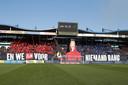 De KingSide van Willem II. De gemeente Tilburg en politie zijn bang dat Satudarah jonge supporters ronselt.