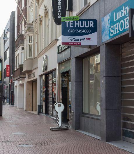 Tien panden te huur aan Demer en Rechtestraat, meer leegstand door corona in Eindhovense binnenstad