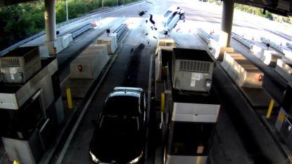 VIDEO: Spectaculaire autocrash in Florida