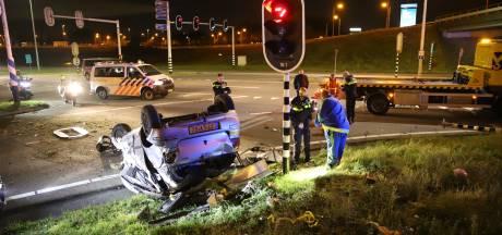 Veel schade door eenzijdig ongeluk in Rijswijk