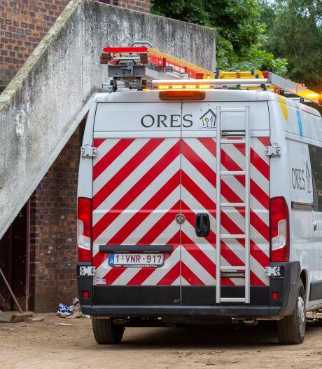 Ores a bouclé vérification et réparation du réseau électrique à Verviers