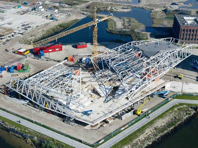 GS Staalwerken bouwde onder meer aan het filmmuseum Eye in Amsterdam.