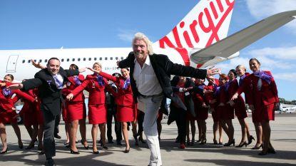 """Miljardair Richard Branson: """"Virgin Airlines heeft staatssteun nodig om te kunnen overleven"""""""