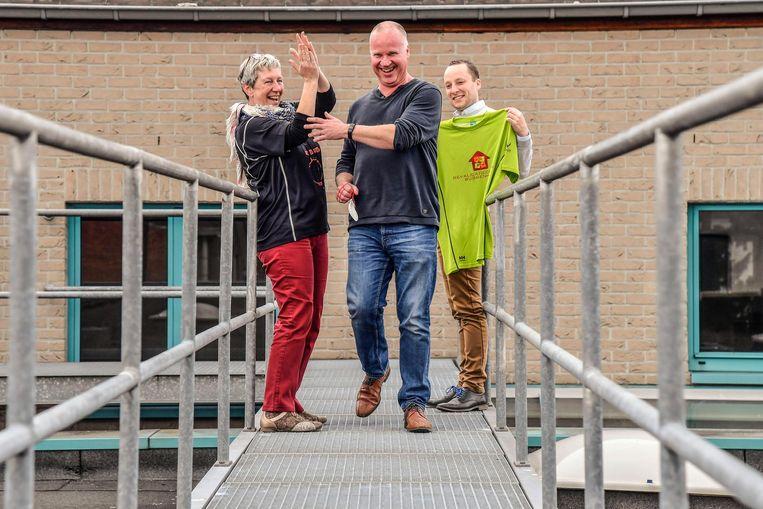 Dirk Lissens vertrok zaterdag voor een tocht van 33 dagen, 25 kilometer per dag. Dat allemaal voor het goede doel.