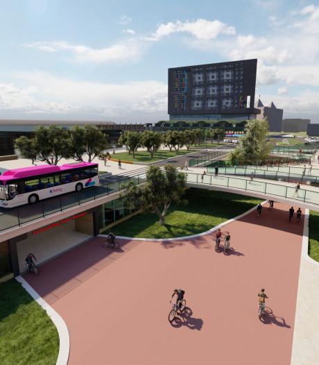 Lof voor plan stationsplein Nijmegen maar 'jammer van bussen'