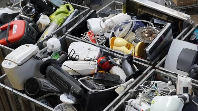 Krëfel wil 600 ton elektromateriaal inzamelen. Vanuit Humbeek start het recyclageparcours