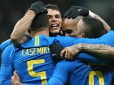 Brazilië scoort drie keer in een kwartier tegen Rusland