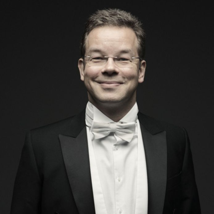 Dirigent Antony Hermus uit Oosterhout