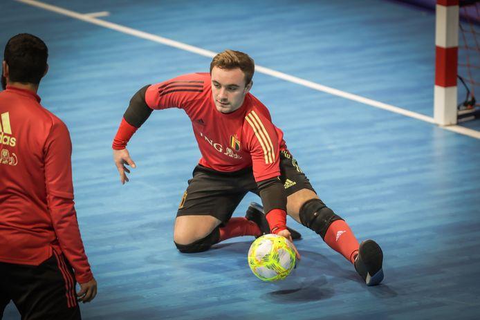 Sint-Truienaar Dries Vrancken wil met de Rode Duivels Futsal deelnemen aan het EK 2022 in Nederland.