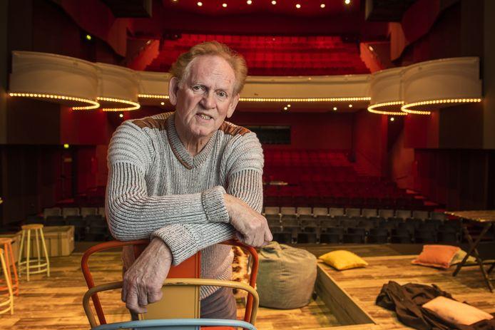 Arie Kwak, voorzitter van 's-Gravenstad Muziektheater Zutphen: ,,De rol van Evita is pittig en veeleisend. Want daarvoor moet je niet alleen krachtig, maar ook heel 'klein' kunnen zingen.''
