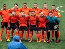 Militair elftal nipt onderuit tegen Engeland in Bergen op Zoom
