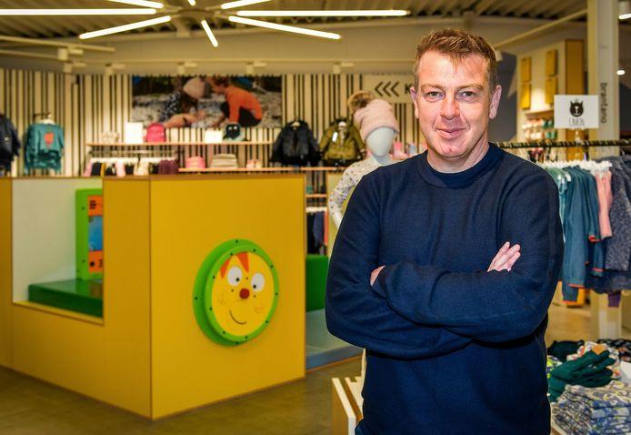 MECHELEN - Dieter Penninckx in een Brantano in Mechelen