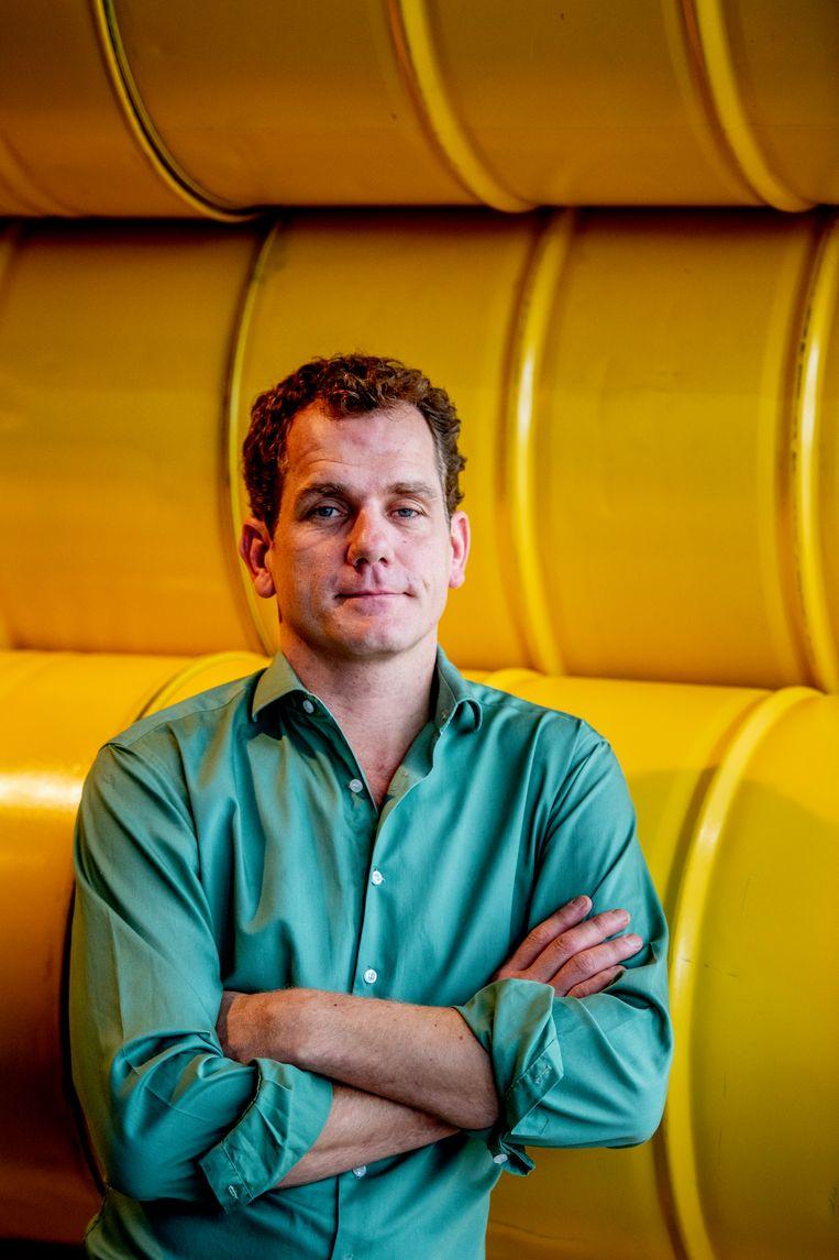 AMSTERDAM - Joris Thijssen , directeur van Greenpeace. ROBIN UTRECHT Beeld Hollandse Hoogte