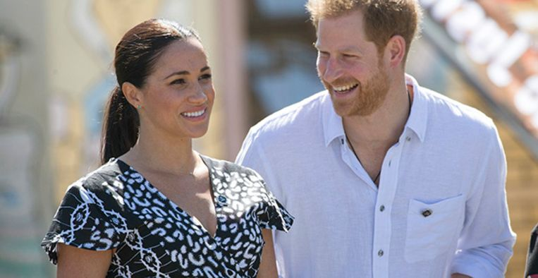 Prins Harry & Meghan Markle Beeld BrunoPress/Newspix