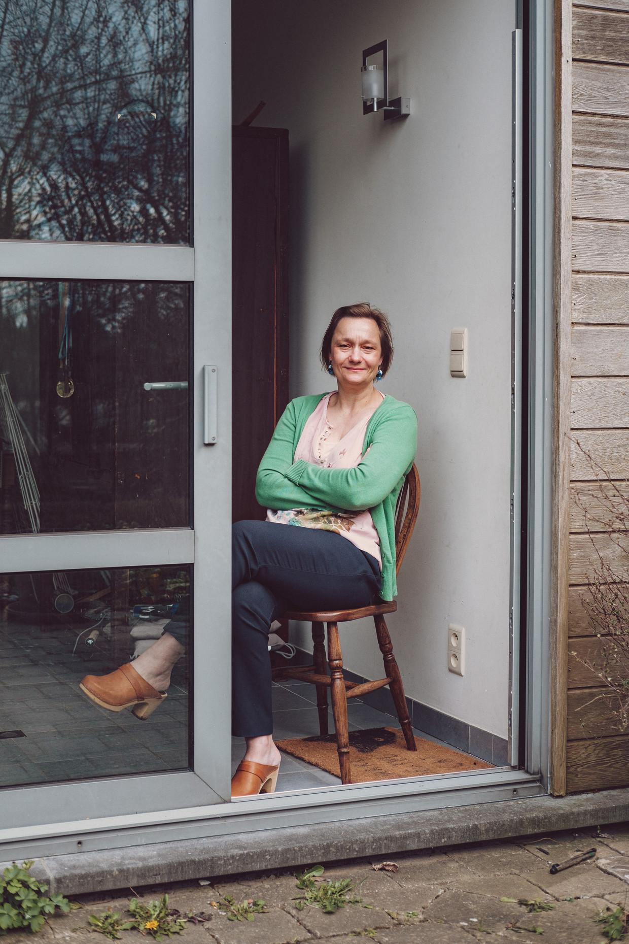 Erika Vlieghe: 'Het is belangrijk om eerlijk te communiceren. Als het nieuws slecht is, moet je dat ook zeggen – maar ook wat je er vervolgens aan wil doen.' Beeld Wouter Van Vooren