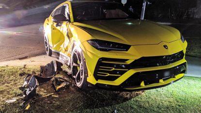 14-jarige steelt auto en crasht tegen Lamborghini tijdens achtervolging