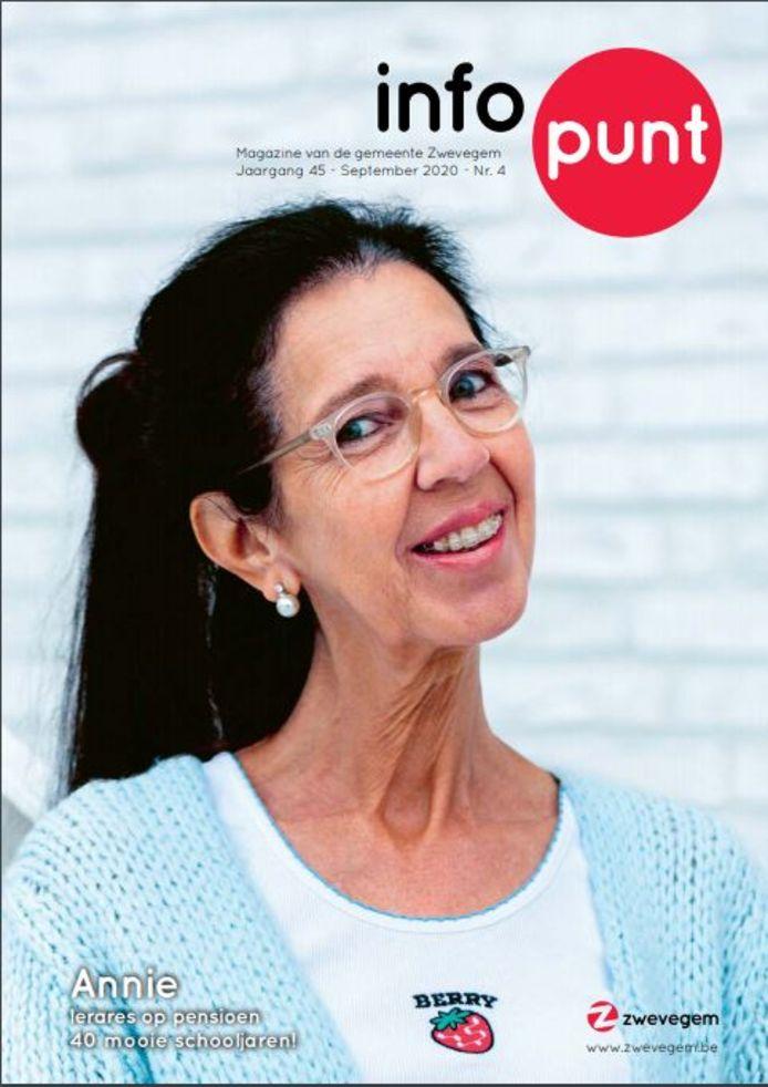 Infopunt Zwevegem is vernieuwd. Zo ziet de cover van de eerste editie eruit.
