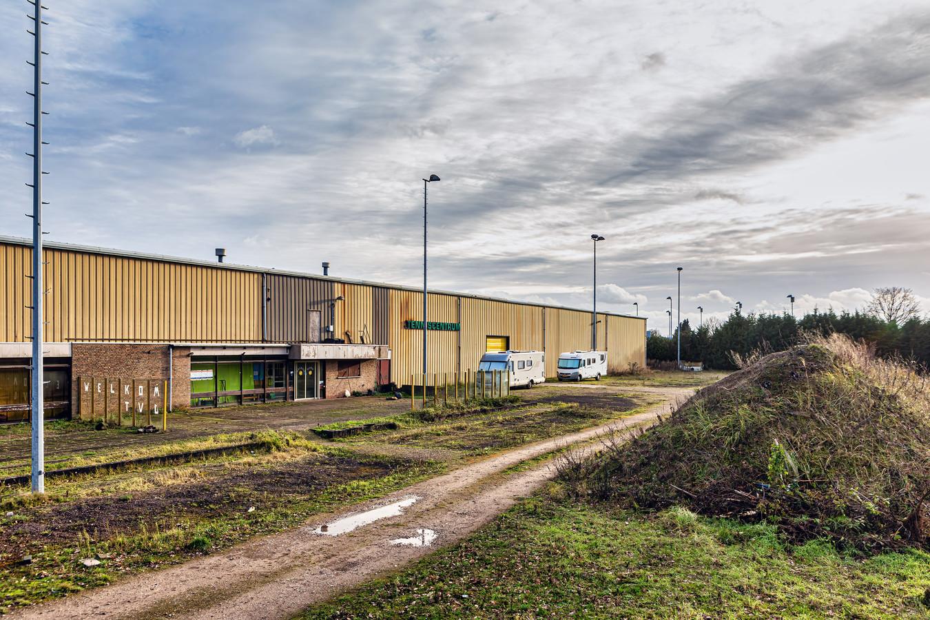 Het voormalige Hamo-terrein in Oosterhout.