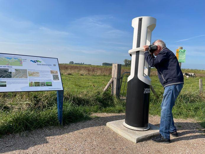 Johan Aers uit Sluis ziet het verleden aan zich voorbijgaan.